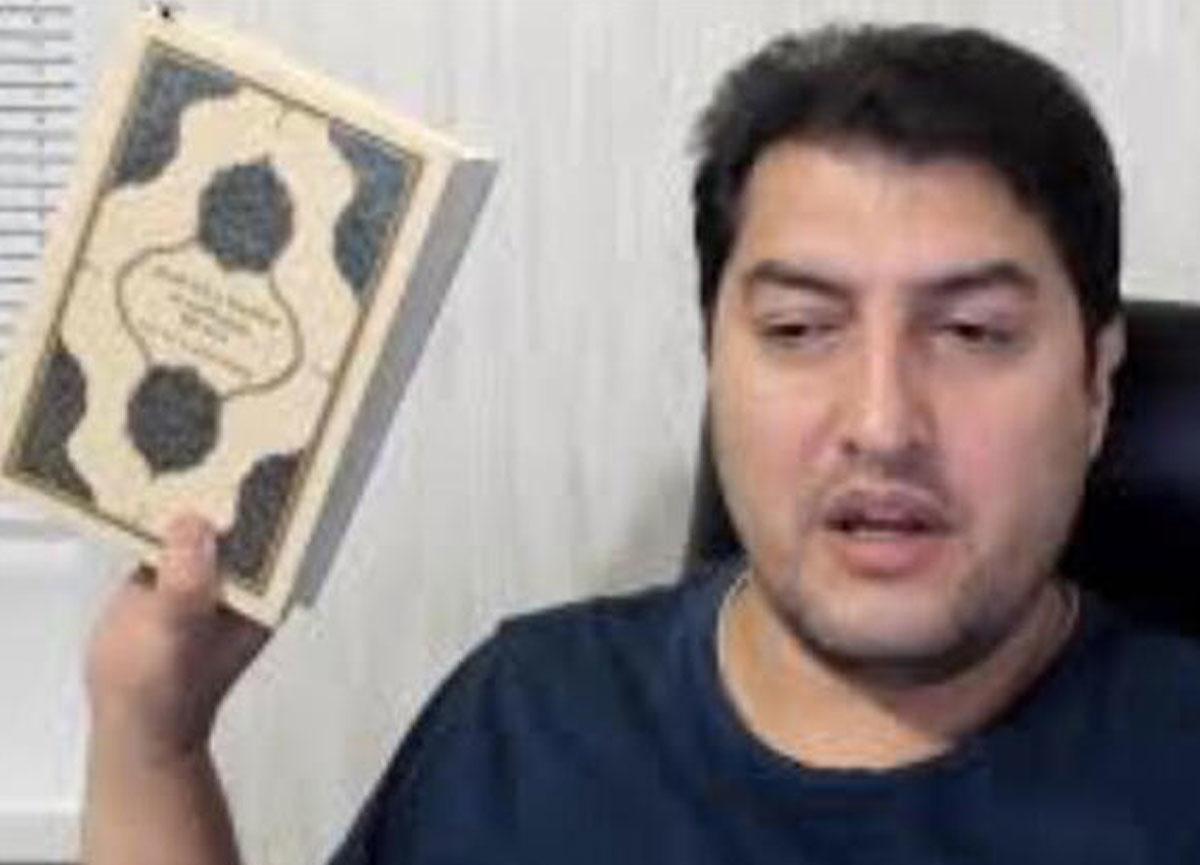 Kur'an-ı Kerim sayfalarını yırtıp İslam'a hakaret eden İbrahim Atabey hakkında soruşturma başlatıldı