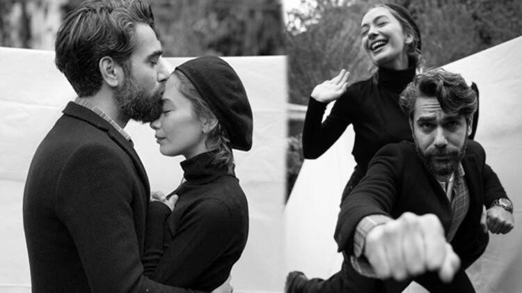 Kadir Doğulu eşi Neslihan Atagül ile çekildiği fotoğraf karesini sosyal medya hesabından paylaştı