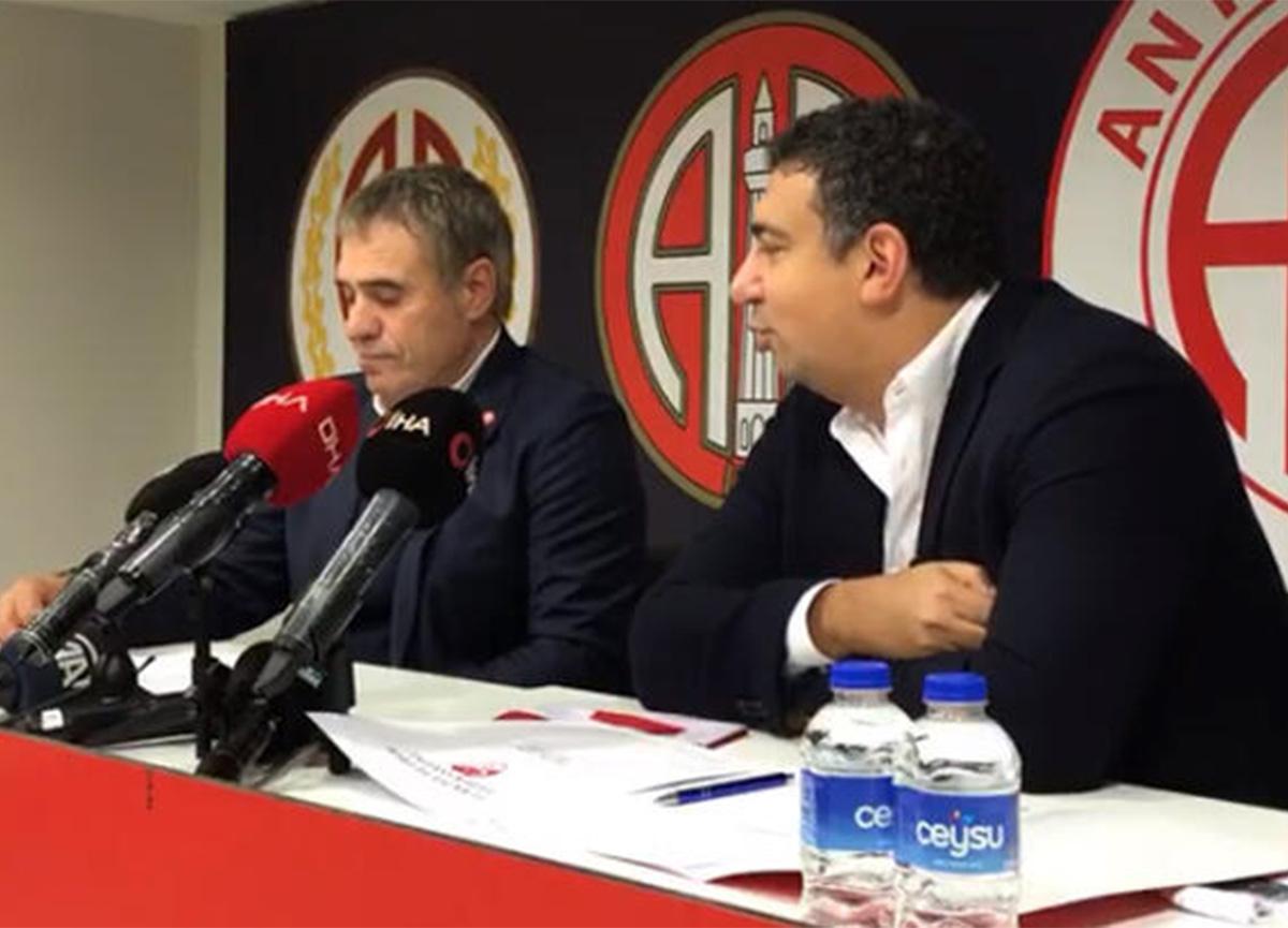 Ersun Yanal, Antalyaspor'a imzayı attı!
