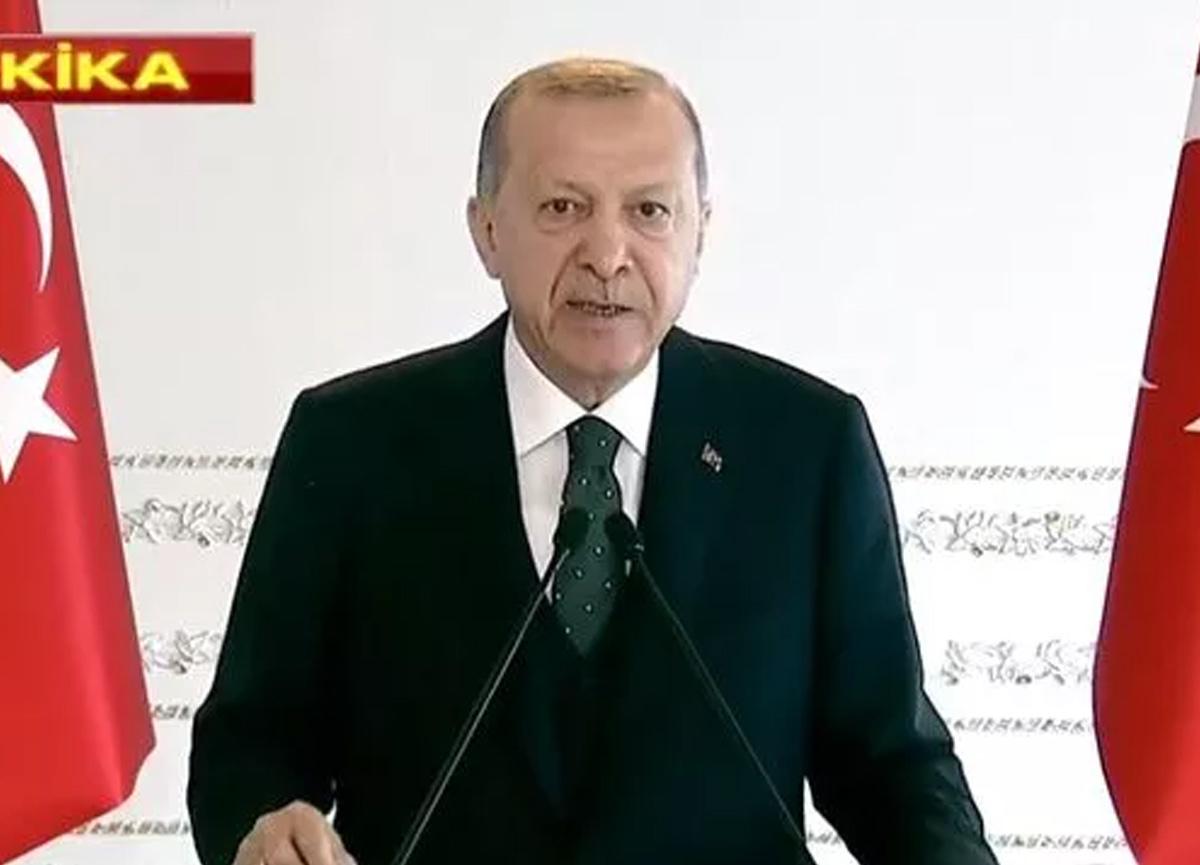Cumhurbaşkanı Erdoğan'dan koronavirüs kısıtlamalarıyla ilgili yeni açıklama
