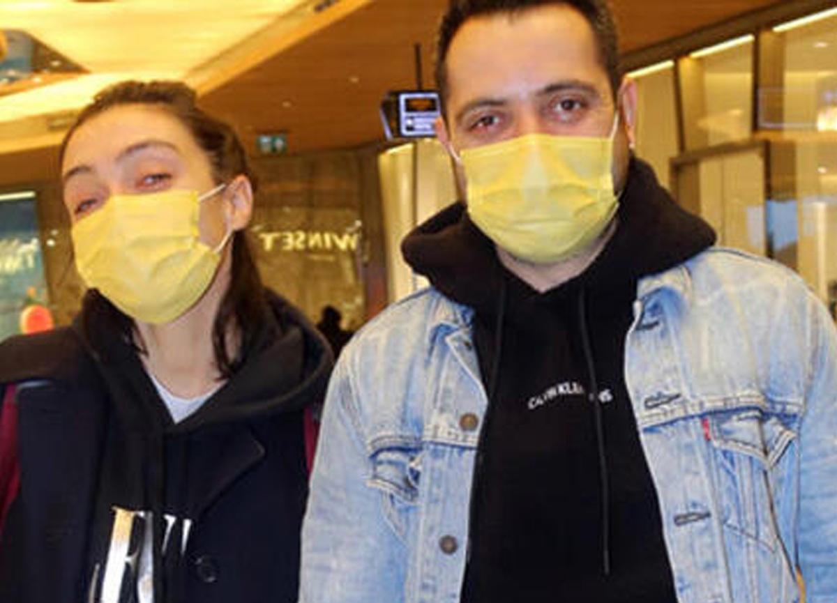 Merve Dizdar eşi Gürhan Altundaşar ile alışverişte görüntülendi