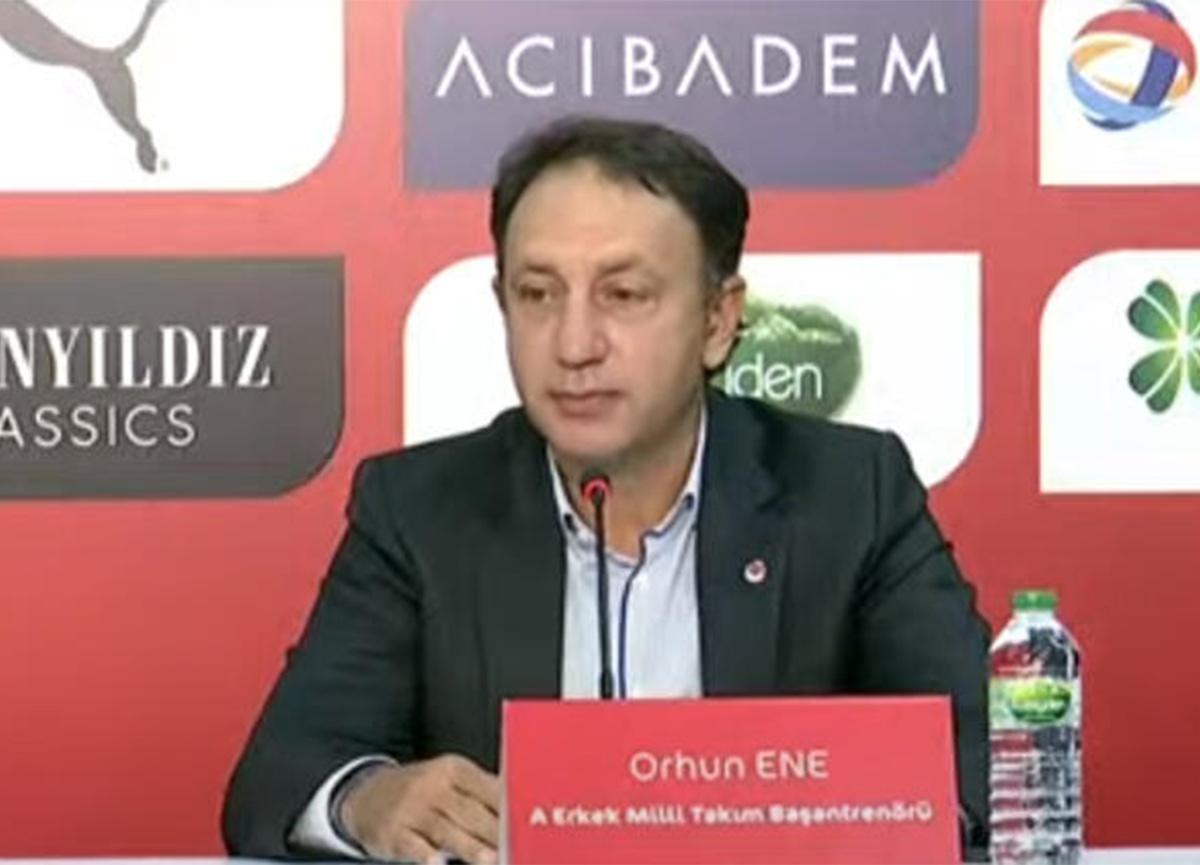 A Milli Takım'ın yeni başantrenörü Orhun Ene imzayı attı!