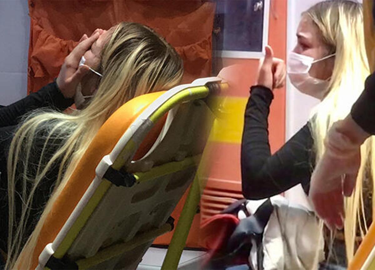 Bursa'da genç kız çığlık çığlığa! Sinir krizi geçirdi!