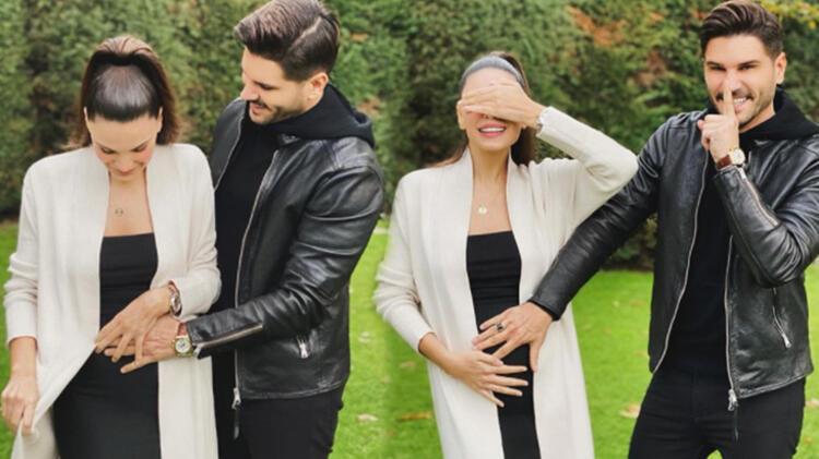 Almeda Abazi ve Tolgahan Sayışman ikinci bebeği beklediklerini sosyal medyadan duyurdu