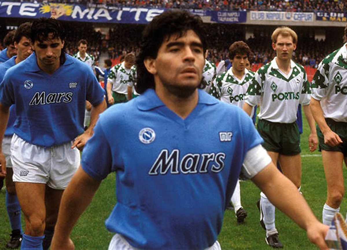Napoli Başkanı: Stadın ismini 'Maradona' yapalım!