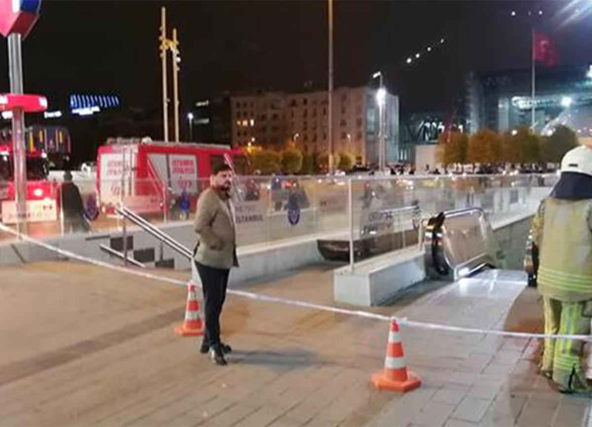 Taksim Metro İstasyonu'nda intihar girişimi nedeniyle seferler durduruldu!
