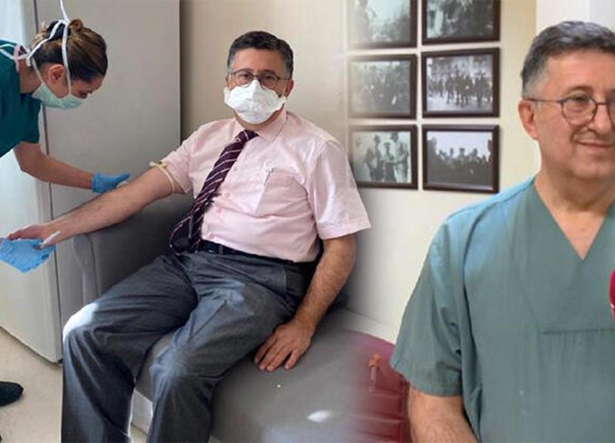 Aşı gönüllüsü profesör: 'Hangi aşıyı bulursanız yaptırın'