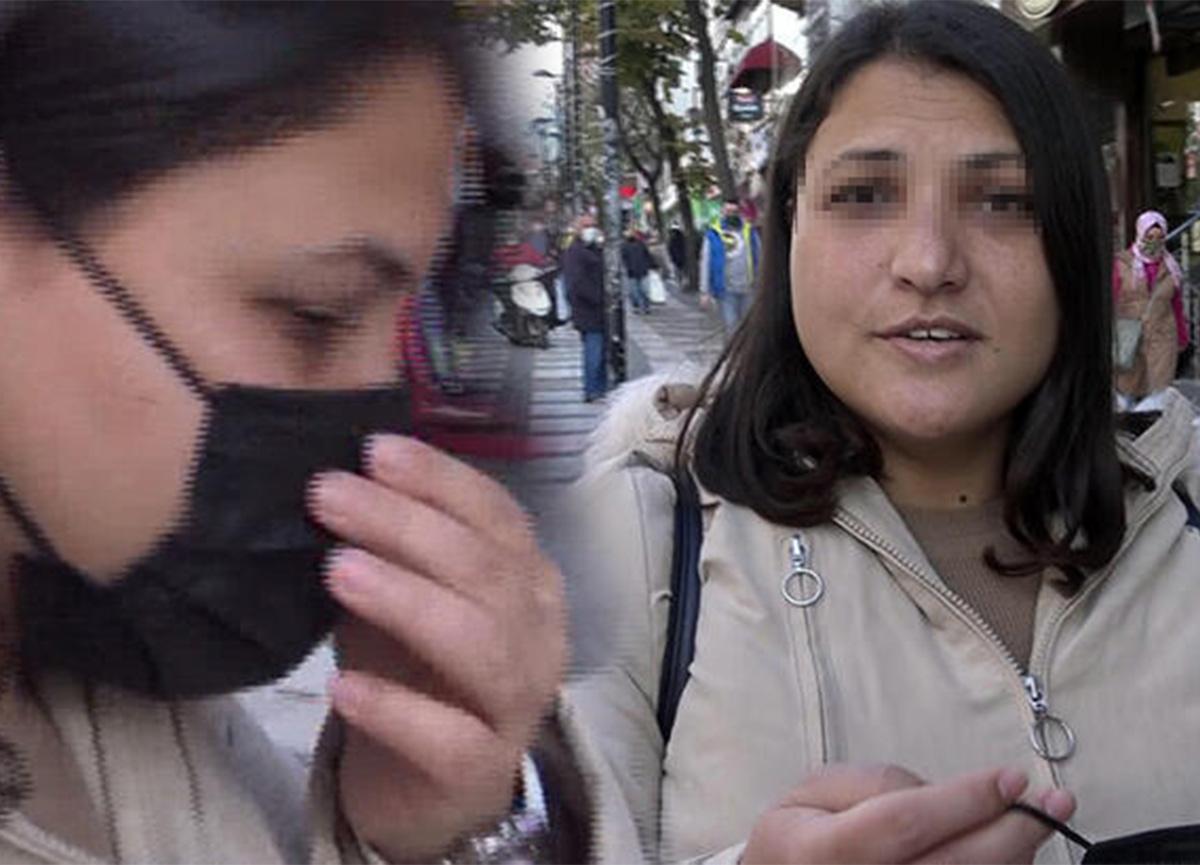 Maske takmayan kadın: 'Allah beni koruyor'