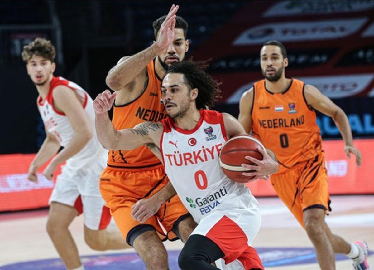 Hollanda 71-73 Türkiye