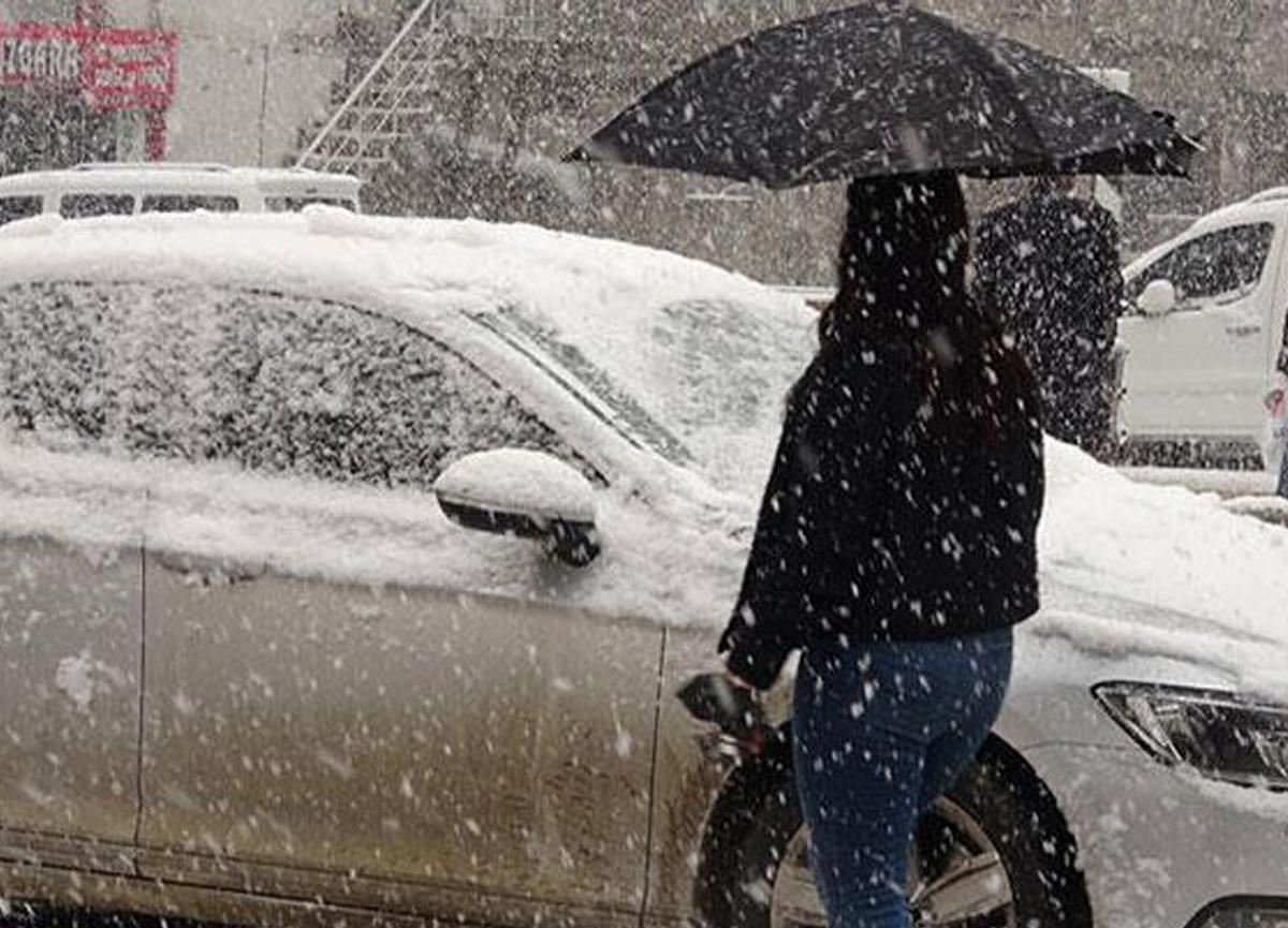 Meteoroloji yurdun bazı bölgeleri için kar yağışı uyarısında bulundu