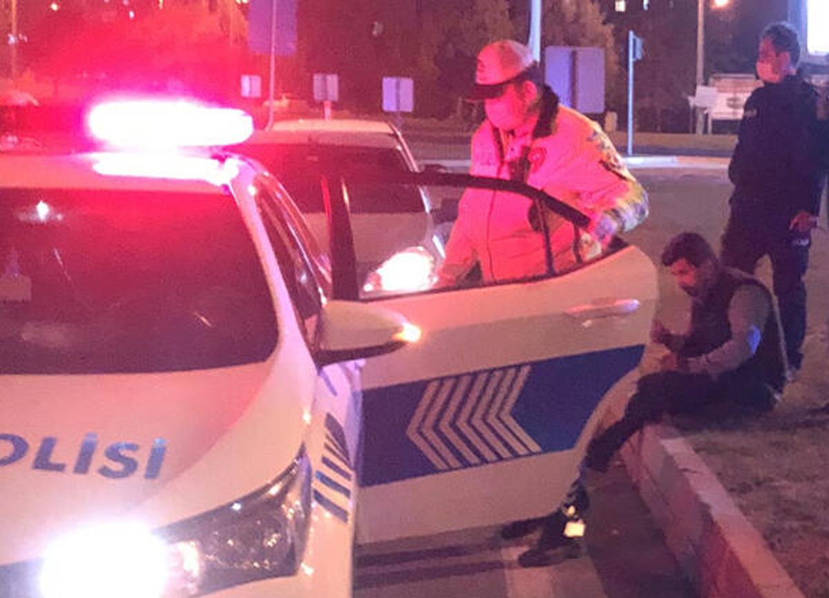 Kahramanmaraş'ta polisleri şaşırtan olay! 'Beni sabaha kadar dövün'