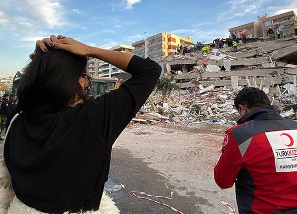 AFAD İzmir depremi sonrasında korkutan rakımı duyurdu!