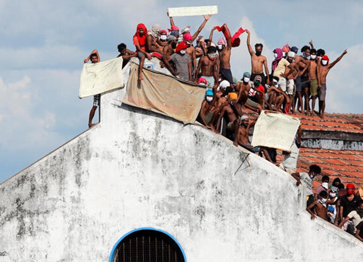 Sri Lanka'da hapishanede ölümcül koronavirüs isyanı! 8 mahkum hayatını kaybetti...