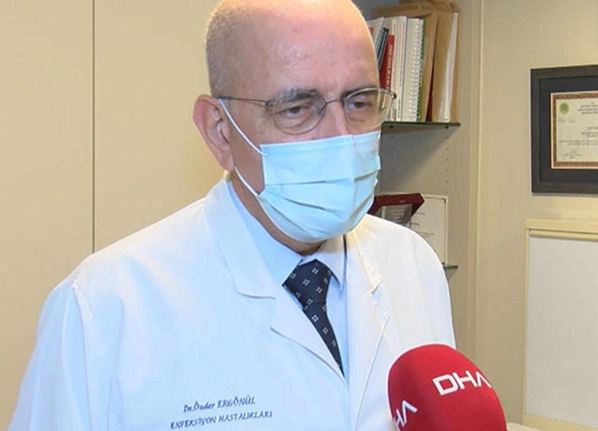 """Prof. Dr. Önder Ergönül: """"Uzamış Kovid"""" ile """"reenfeksiyon"""" karıştırılmamalı"""