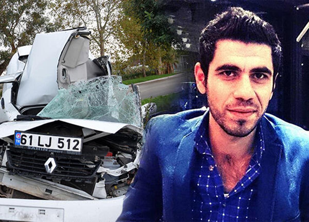 Antalya'da feci kaza! Araç hurdaya döndü!