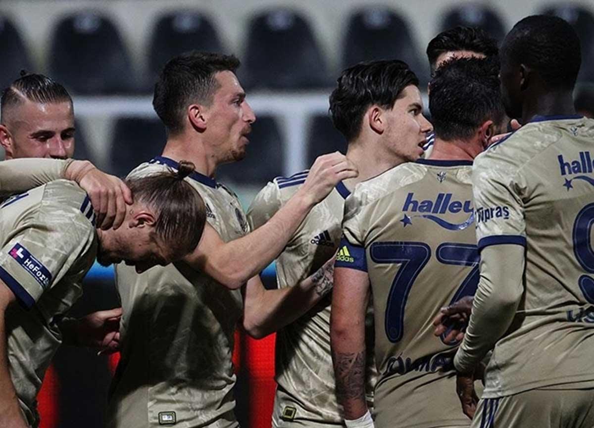 Fenerbahçe deplasmanda Denizlispor'u 2-0 mağlup etti