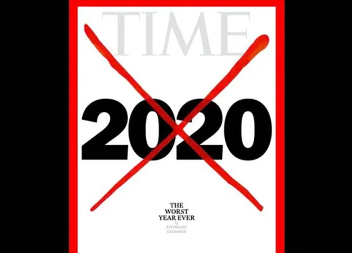 Time dergisi, 2020 yılını 'şimdiye kadarki en kötü yıl' seçti