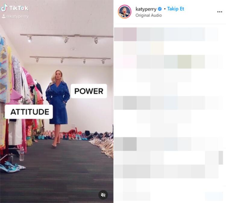 Katty Perry sosyal medya hesabından takipçilerine sırrını paylaştı