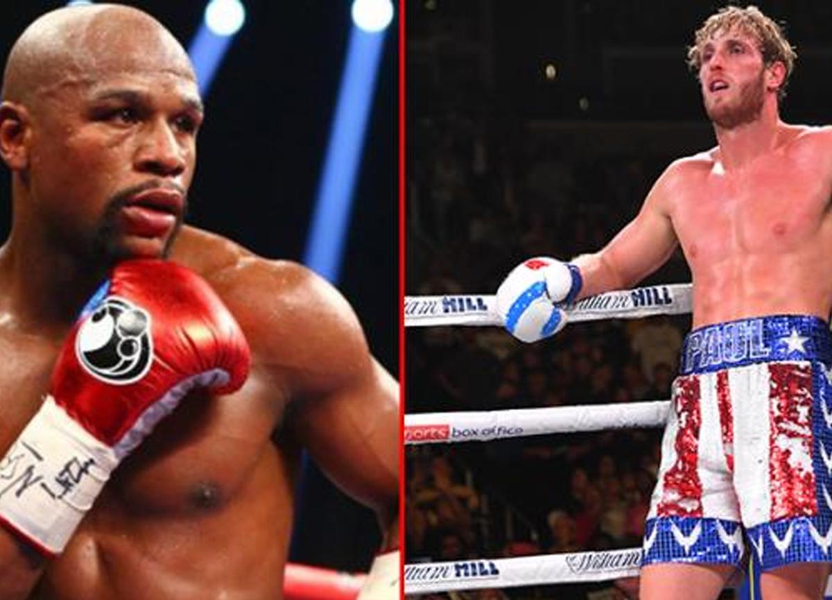 Dünyaca ünlü boksör Floyd Mayweather, Youtuber Logan Paul ile dövüşmek için ringlere dönüyor