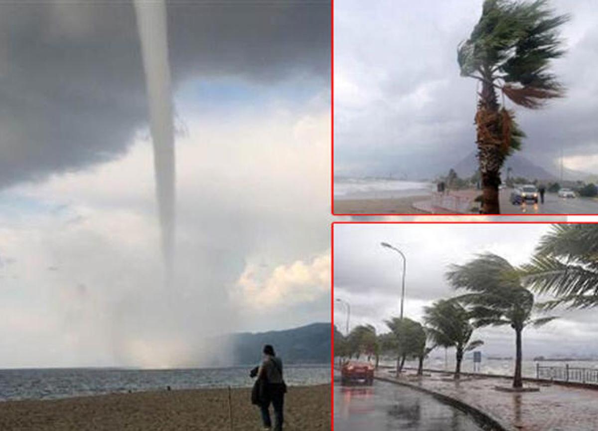 Meteoroloji'den Antalya için dolu, sağanak ve hortum uyarısı!