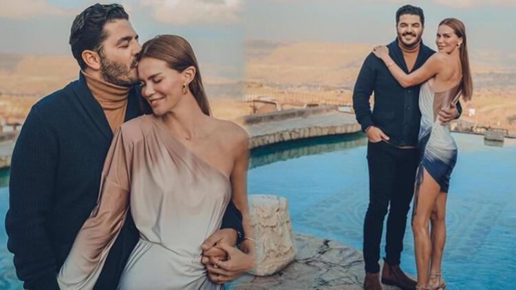 Ebru Şallı ile eşi Uğur Akkuş'un Kapakdokya tatili devam ediyor