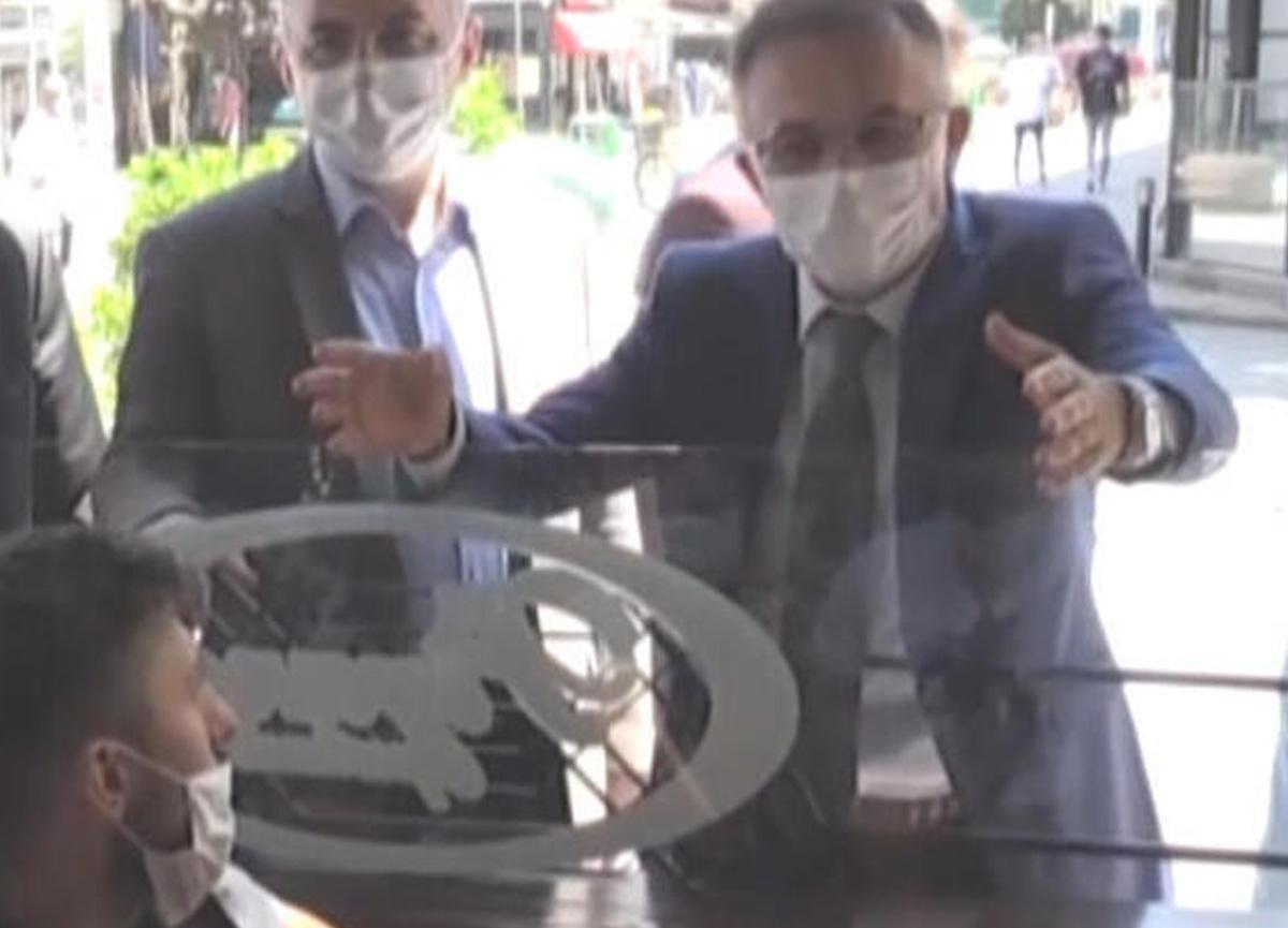 Rize'de koronavirüs tedbirlerine uymayan 3 polis memuruna Vali'nin talimatıyla ceza