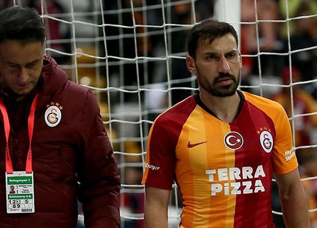 Galatasaray'da fazla forma şansı bulamayan Şener Özbayraklı'ya Süper Lig'den sürpriz talip