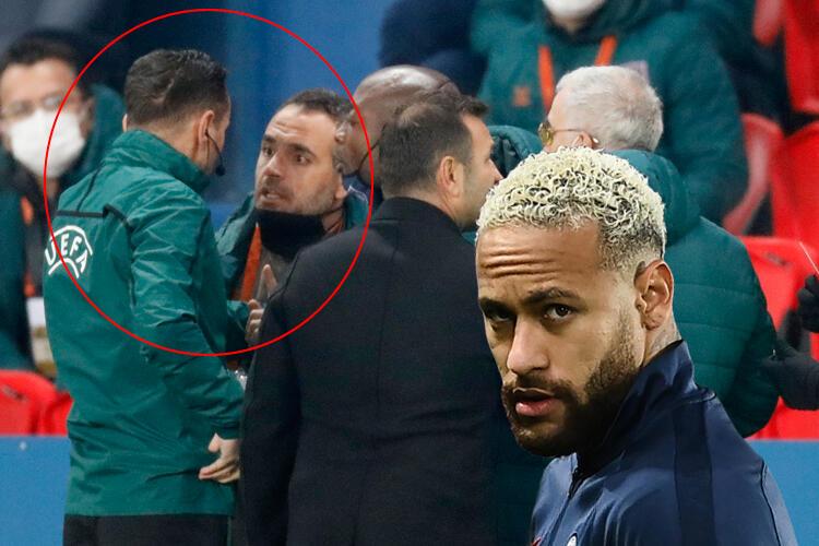 PSG - Başakşehir maçında büyük skandal! Kendi ülkesini de ayağa kaldırdı...