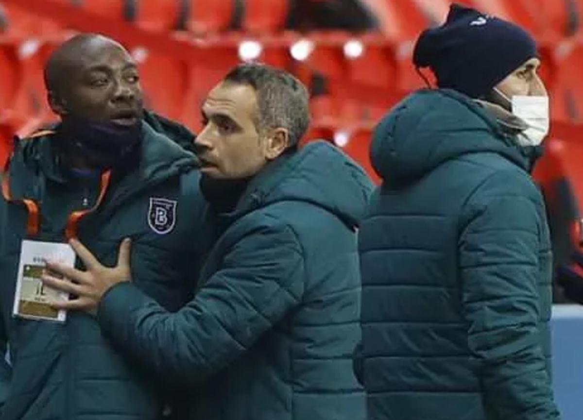 Başakşehir'de Pierre Webo'nun kırmızı kartı iptal oldu!