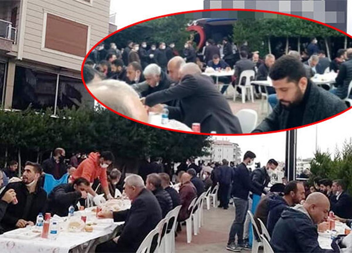 Antalya'dan akılalmaz görüntüler! Onlarca kişi bir araya geldi!