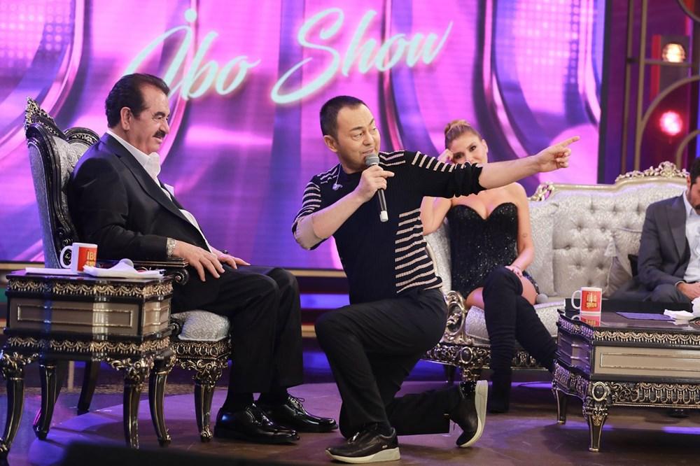 İbo Show yeni bölüm fotoğrafları: İbrahim Tatlıses'in kızı Elif Ada ilk kez stüdyoda