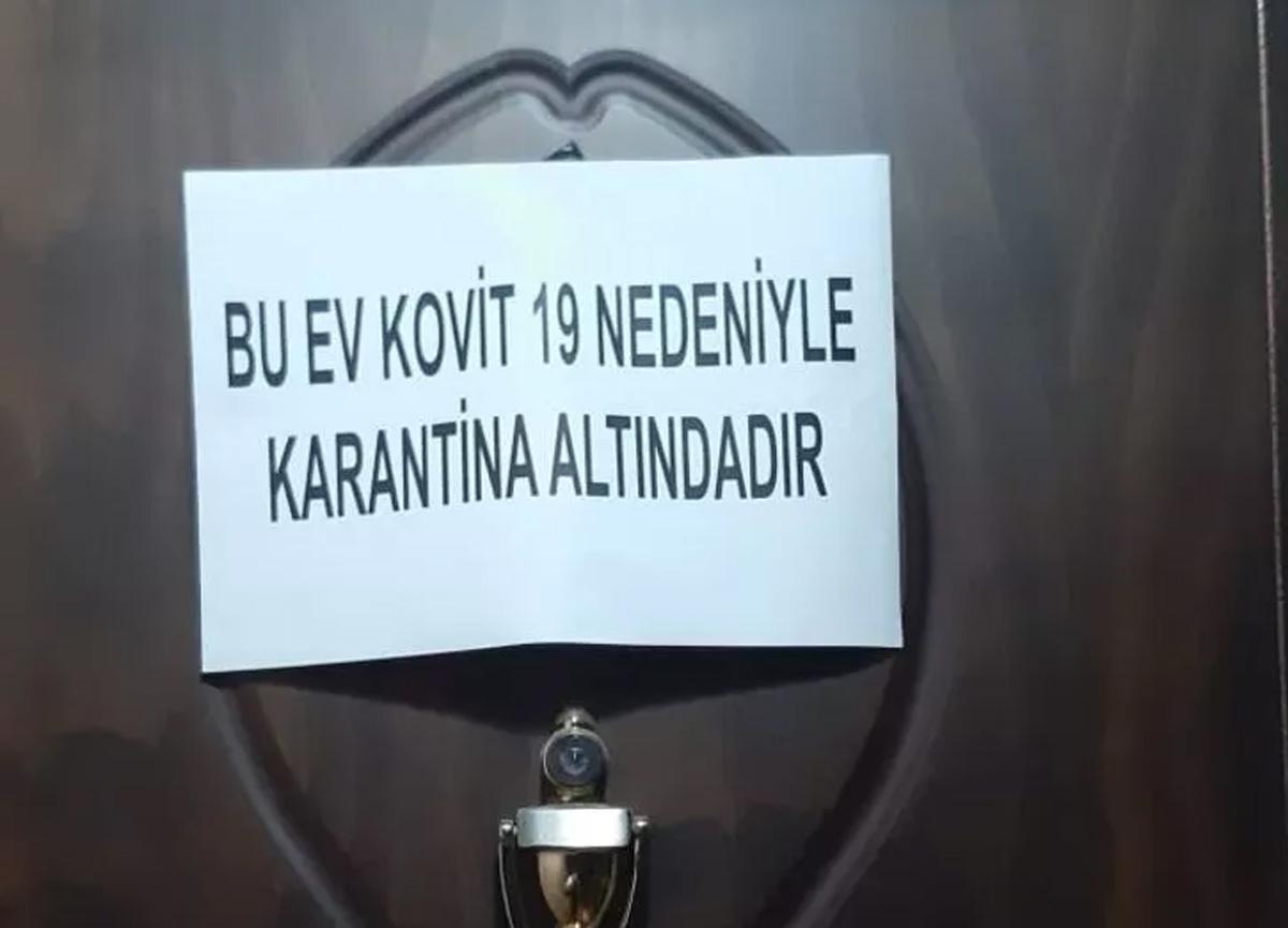 Balıkesir'de flaş koronavirüs kararı! O dairelere uyarı notu asılacak...