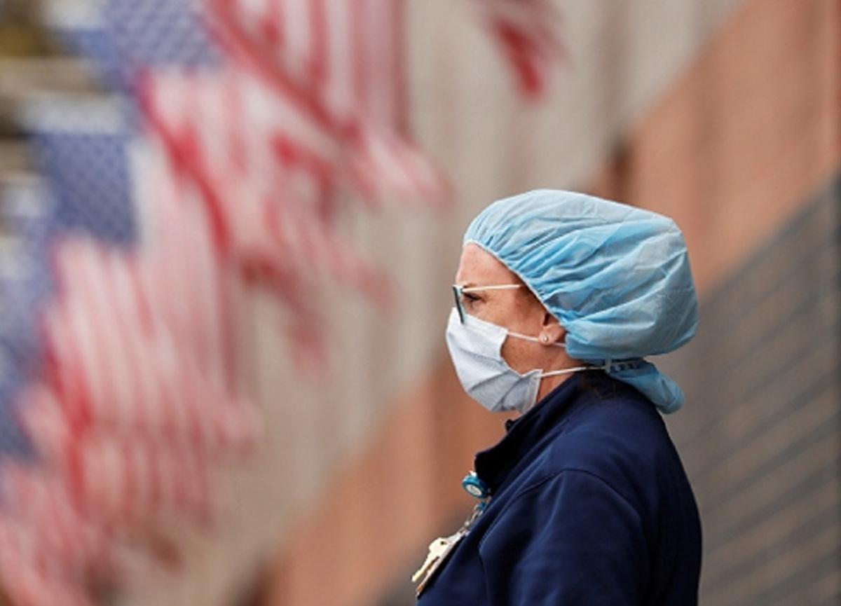 ABD'de koronavirüs yüzünden son 24 saatte 2 bin 892 kişi yaşamını yitirdi