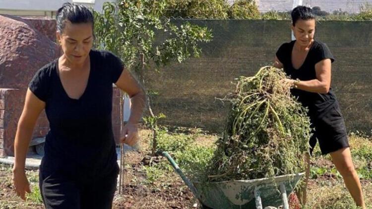 İzmir'e yerleşip çiftçiliğe başladığını duyuran oyuncu Filiz Taçbaş'ın evine hırsız girdi