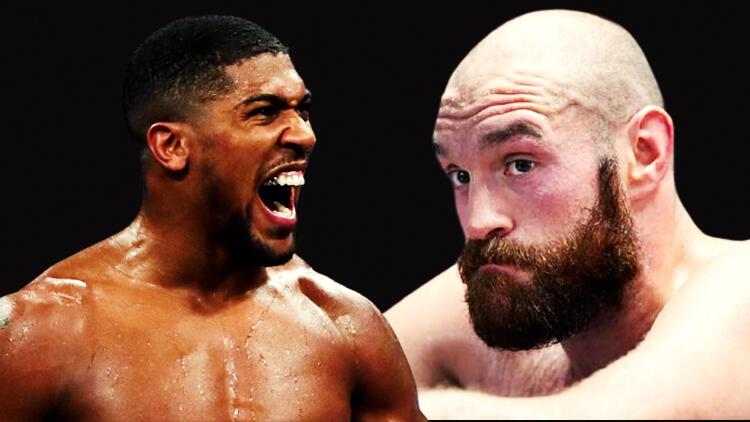 Anthony Joshua - Tyson Fury maçı öncesi resmen açıklandı! Tarihi olay...