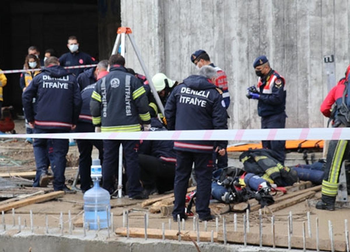 Denizli'de feci olay! 3 işçi hayatını kaybetti...