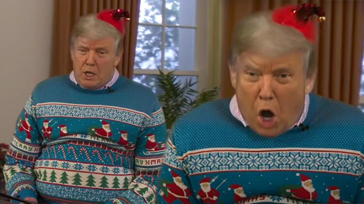 Donald Trump'ı bu halde görenler şoka girdi!