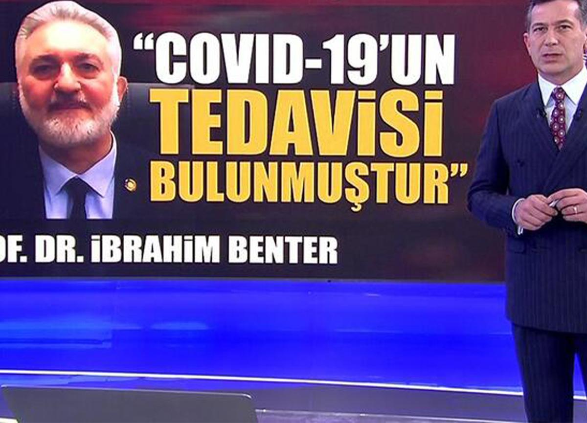 Prof. Dr. İbrahim Benter: 'Koronavirüsün tedavisi bulunmuştur'