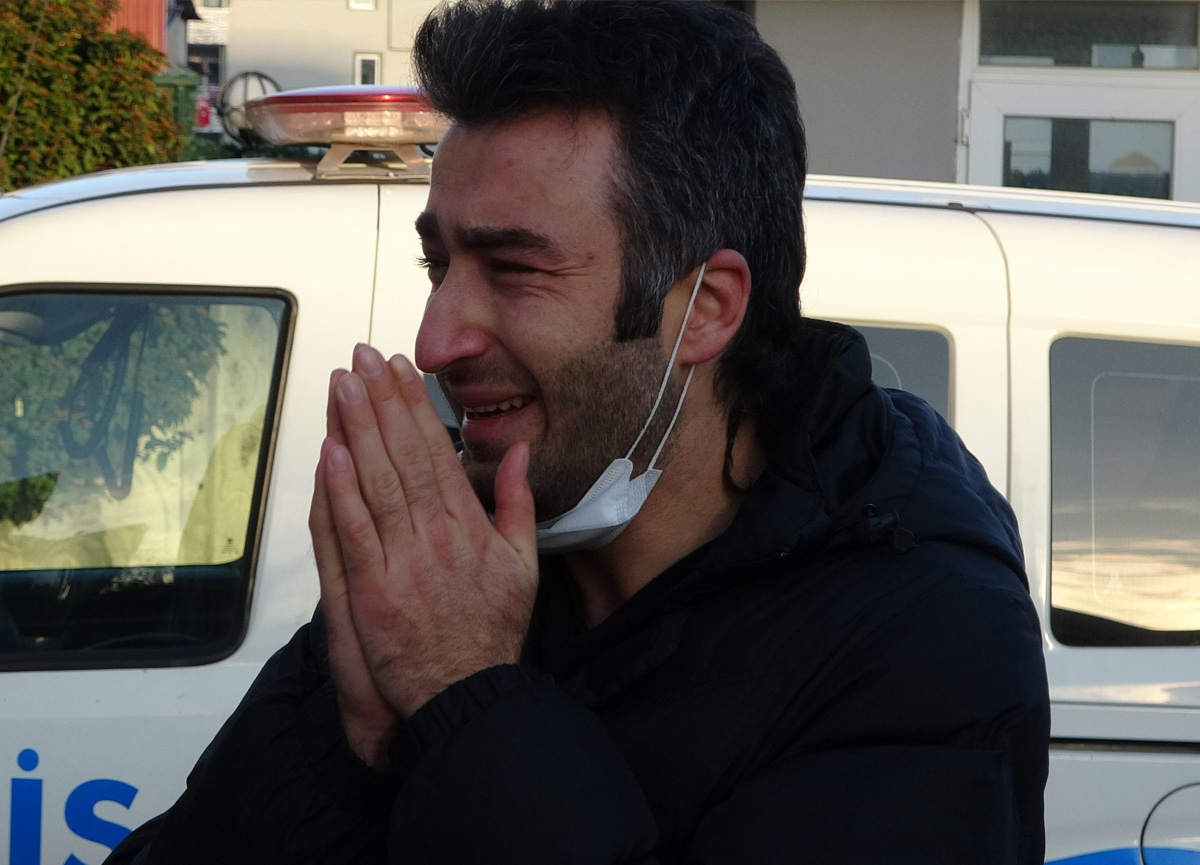 Samsun'da kahreden olay! 5'inci kattan düşerek hayatını kaybetti...