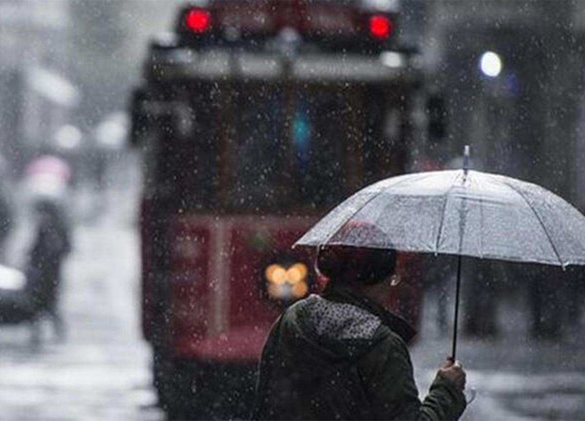 Meteoroloji'den havanın son durumu! Sağanak yağış ve kar...