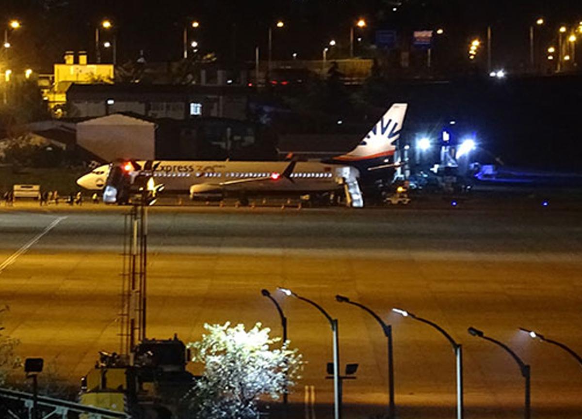 Trabzon Havalimanı'nda elektrik arızası uçuşları durdurdu