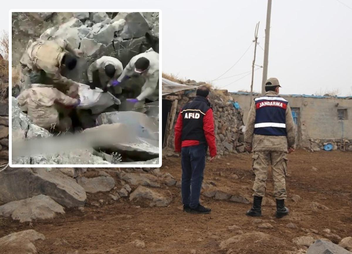 Iğdır'da cinayet! Babalarını elektrik kablosuyla boğup, mağaraya gömdüler
