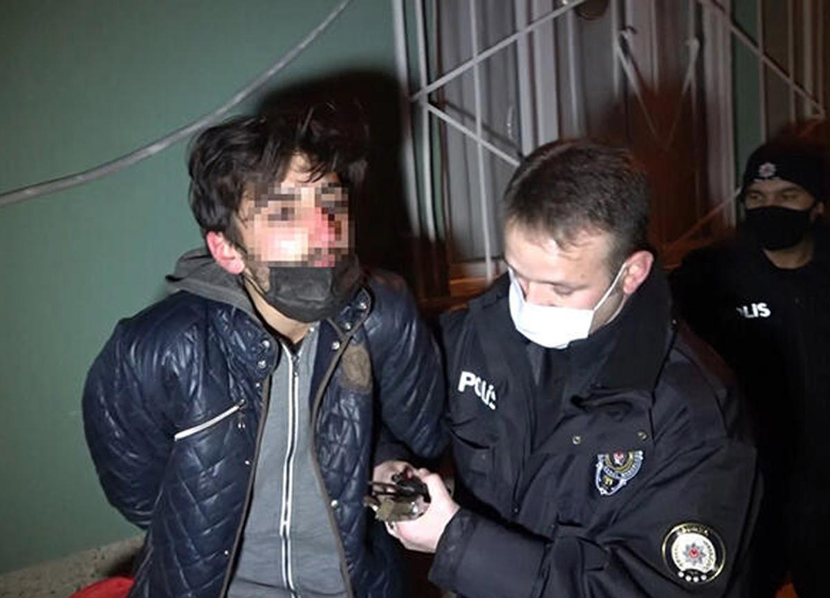 Bursa'da ilginç olay! Polislere yakalanınca hüngür hüngür ağladı...