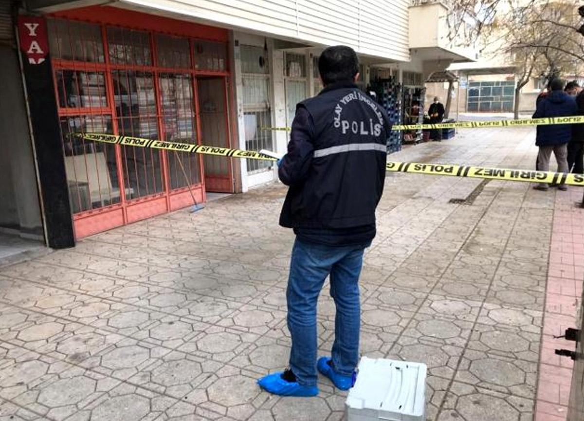 Matkapla mermiyi deldi, patlamada 2 kişi yaralandı
