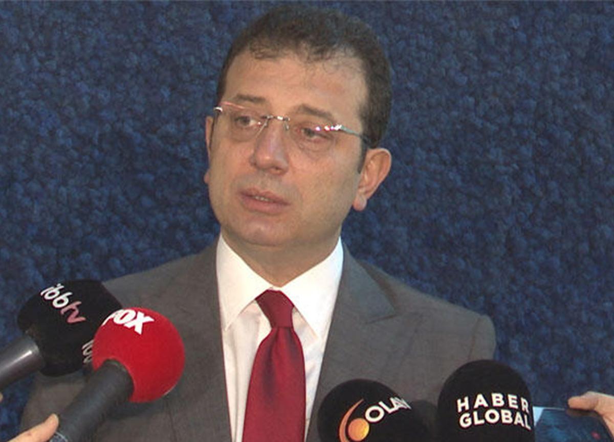 İBB Başkanı Ekrem İmamoğlu'ndan 'su' açıklaması