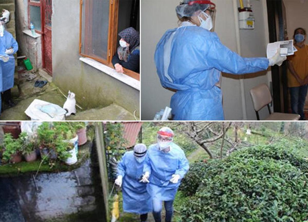 Rize'de koronavirüsün nasıl yayıldığı ortaya çıktı!