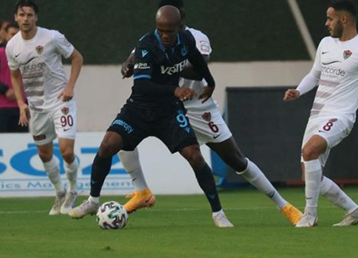 Trabzonspor Hatayspor'u deplasmanda tek golle devirdi