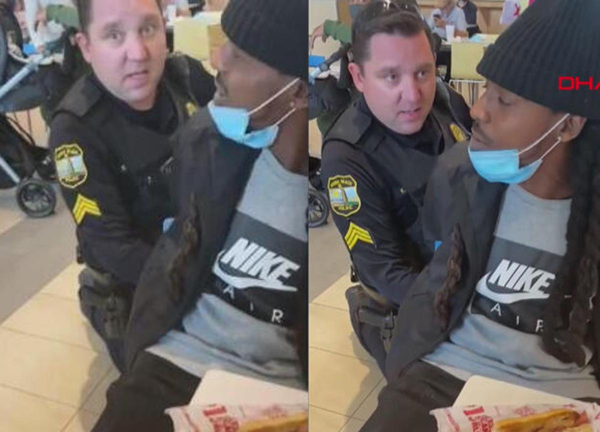 ABD'de skandal olay! Polis siyahi bir kişiyi yanlışlıkla gözaltına aldı...