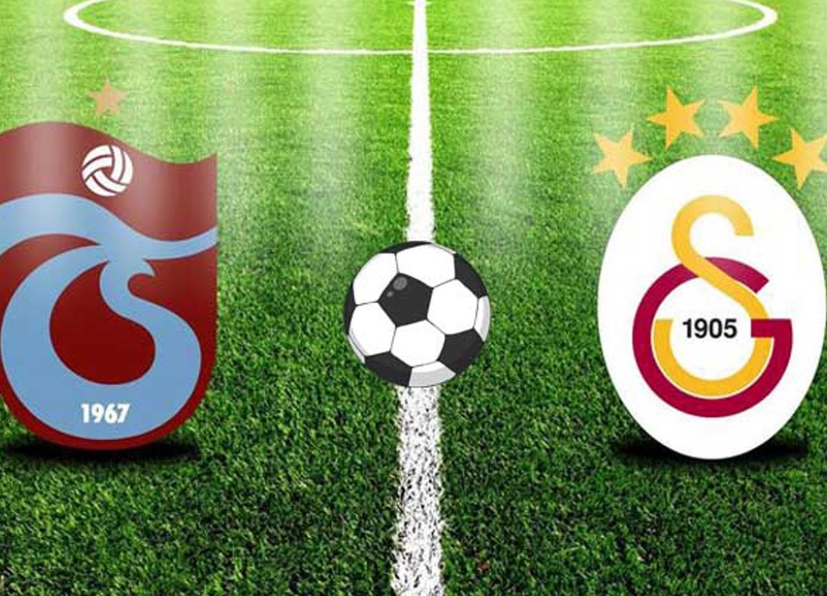 Trabzonspor Galatasaray maçı ne zaman? saat kaçta? Hangi gün?