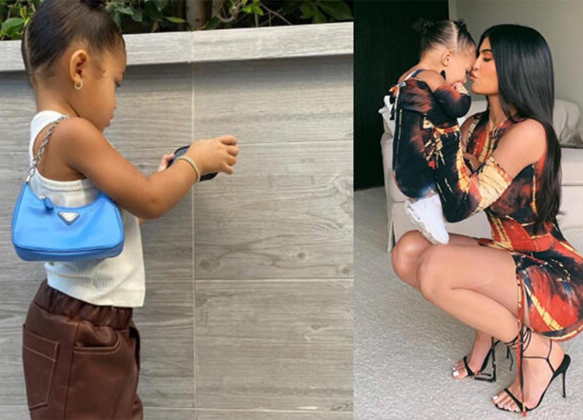 Kylie Jenner'ın küçük kızının çantasının fiyatı dudak uçuklattı!